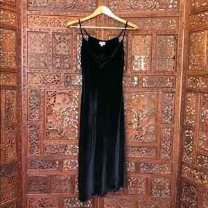 AG - Black Velvet Dress